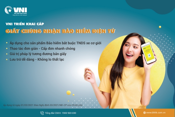 [Nghị định số 03/2021/NĐ - CP] Hỏi đáp về giấy chứng nhận bảo hiểm điện tử dành cho xe cơ giới