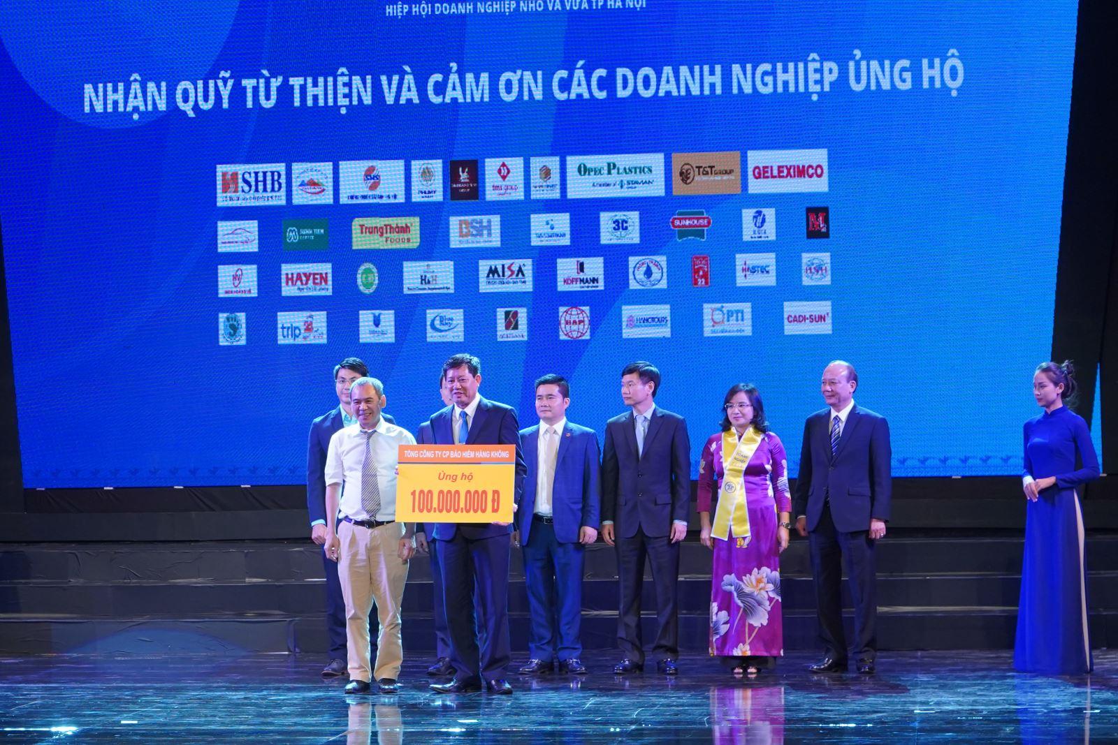 Bảo hiểm Hàng không (VNI) ủng hộ 100 triệu đồng quỹ bảo trợ trẻ em TP Hà Nội