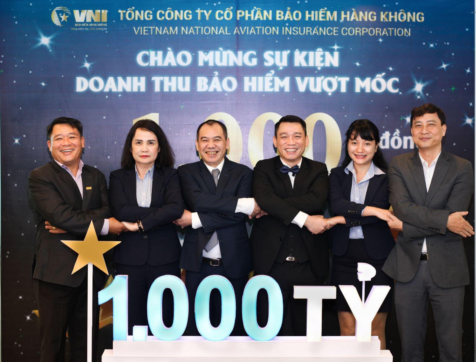 Bảo hiểm Hàng không (VNI) doanh thu bảo hiểm vượt mốc 1.000 tỷ đồng