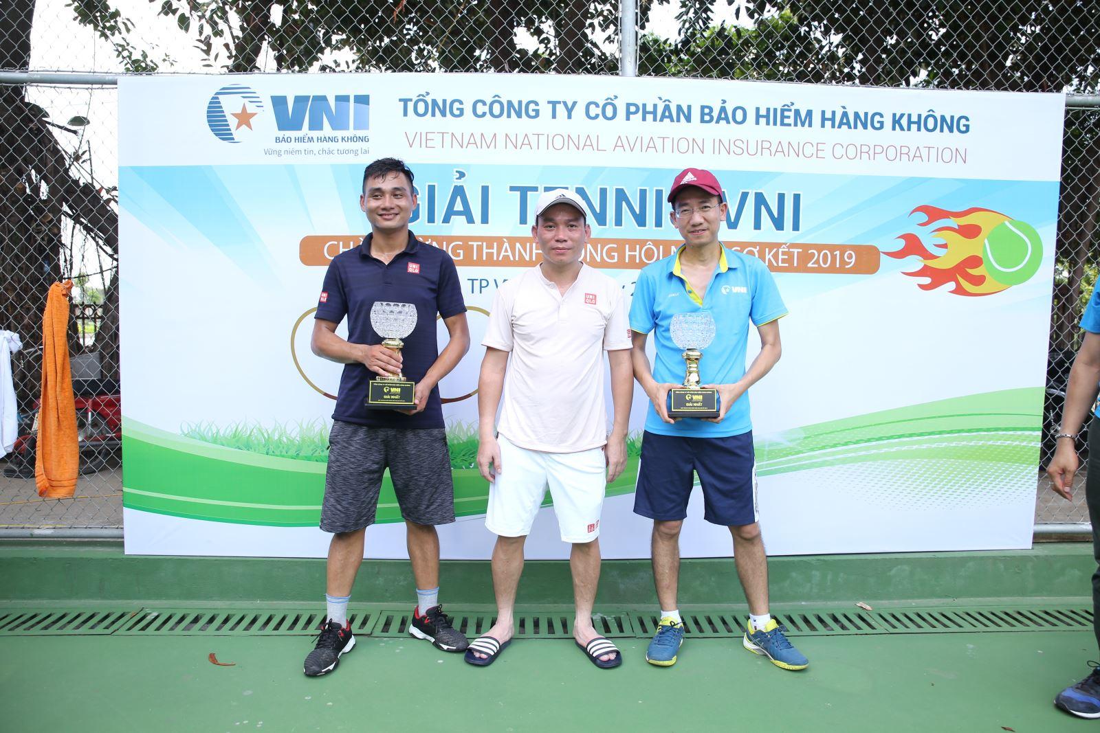 Giải tennis VNI chào mừng thành công Hội nghị sơ kết 2019