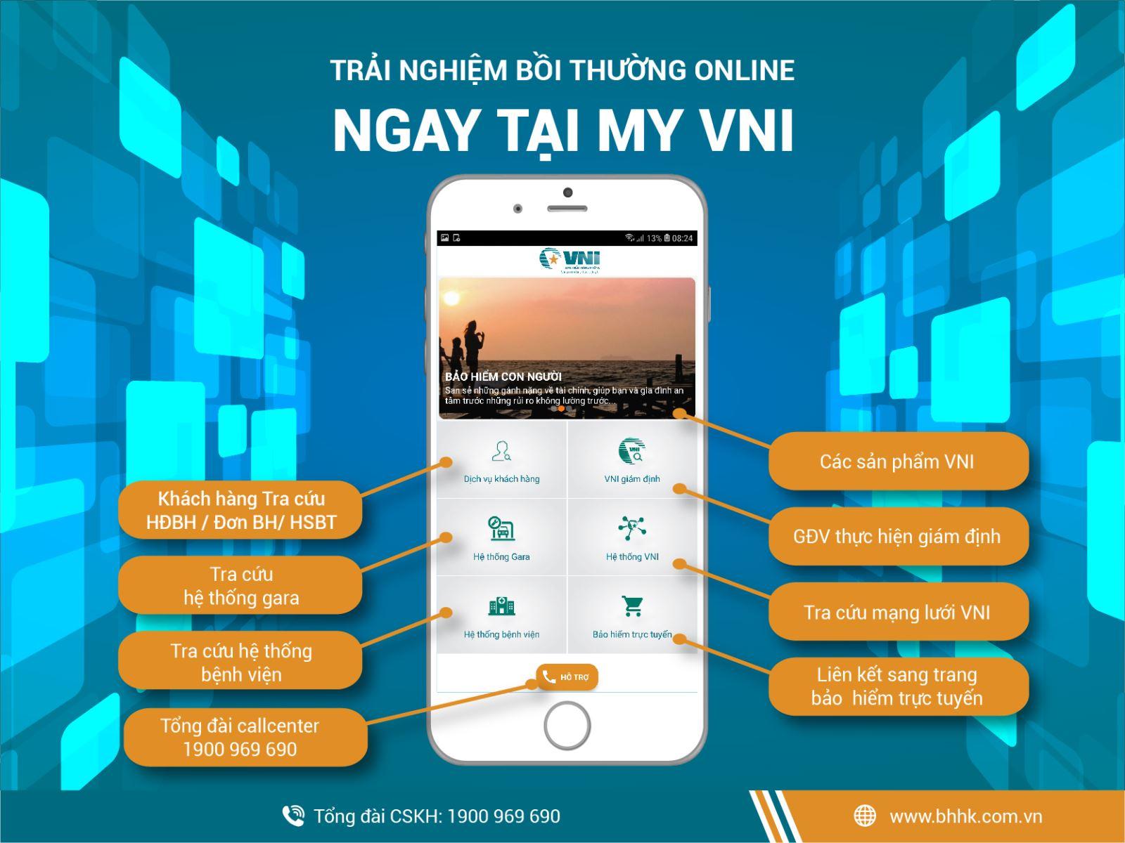 Bảo hiểm Hàng không (VNI) triển khai ứng dụng phần mềm giám định bồi thường vật chất xe trực tuyến