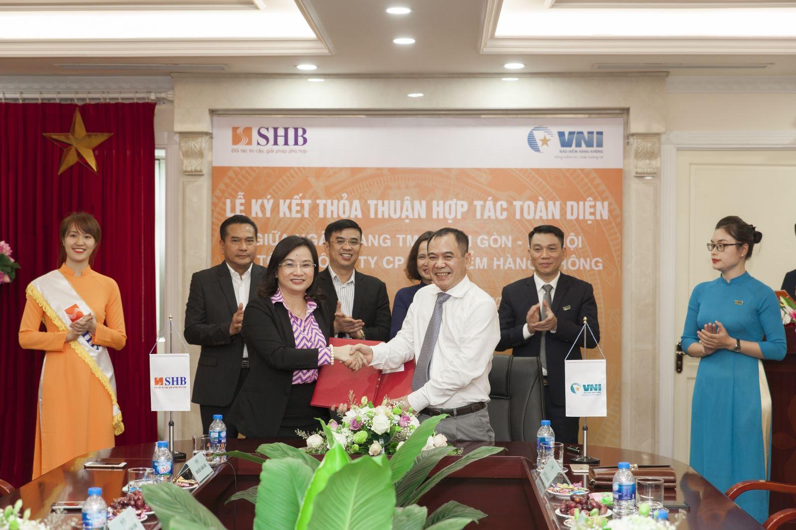 VNI & SHB hợp tác mang lợi ích cho khách hàng